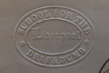 Embossed letterhead for the Liverpool School for the Deaf and Dumb